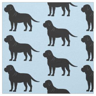 Bullmastiff in Silhouette Fabric