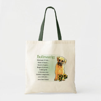 Bullmastiff Lovers Gifts Tote Bag
