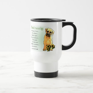 Bullmastiff Lovers Gifts Travel Mug