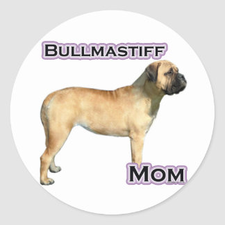 Bullmastiff Mom 4 - Sticker