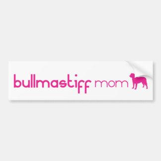 Bullmastiff Mom Bumper Sticker