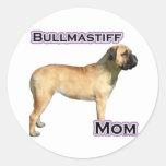 Bullmastiff Mum 4 - Sticker