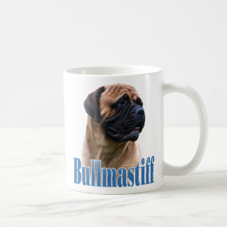 Bullmastiff (red) Name Coffee Mug