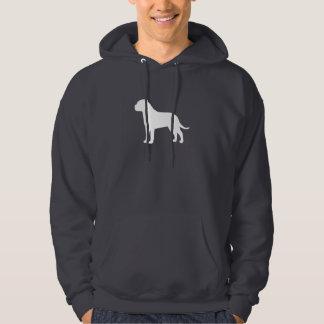 Bullmastiff Silhouette Hoodie