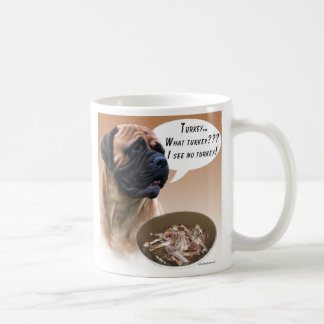 Bullmastiff Turkey Coffee Mug