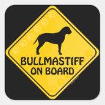 Bullmastiff Xing Sticker