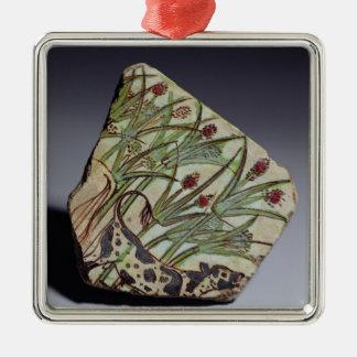 Bullock among papyrus reeds, New Kingdom (faience) Christmas Ornament
