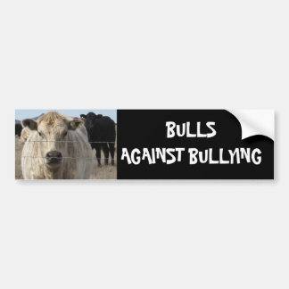 Bulls Against Bullying #12 of 14 Different Bumper Sticker