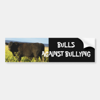 Bulls Against Bullying #13 of 14 Different Bumper Sticker