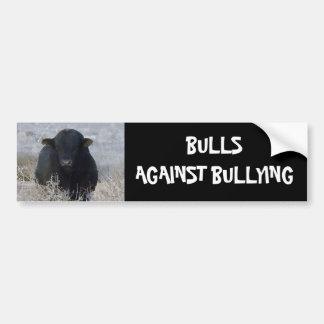 Bulls Against Bullying #14 of 14 Different Bumper Sticker