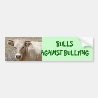 Bulls Against Bullying #1 of 14 Different Bumper Sticker