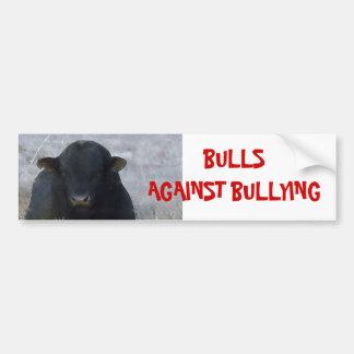 Bulls Against Bullying #2 of 14 Different Bumper Sticker