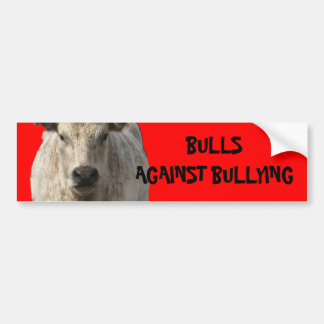 Bulls Against Bullying #4 of 14 Different Bumper Sticker