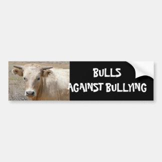 Bulls Against Bullying #8 of 14 Different Bumper Sticker