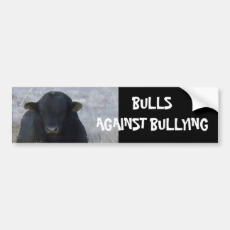 Bulls Against Bullying #9 of 14 Different Bumper Sticker