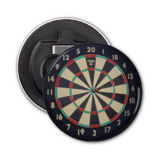 Bulls_Eye_Dart_Board_Magnetic_Bottle_Opener. Bottle Opener