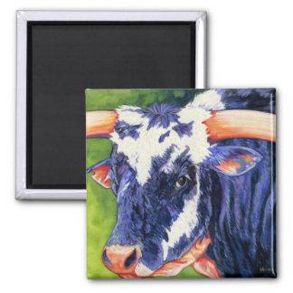 Bull's Eye - Rodeo Bull Magnet