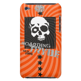 Bulls Eye Skull Barely There iPod Touch Barely There iPod Cover
