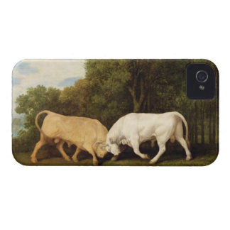 Bulls Fighting, 1786 (oil on panel) iPhone 4 Covers