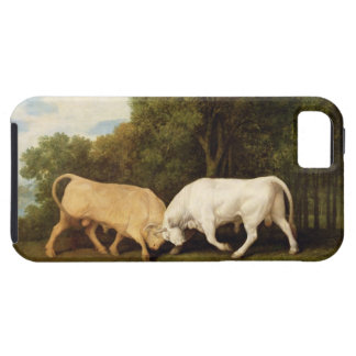 Bulls Fighting, 1786 (oil on panel) iPhone 5 Covers