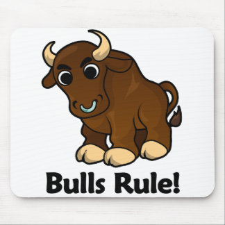 Bulls Rule! Mouse Pad