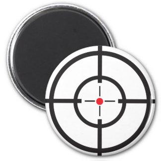 Bullseye 6 Cm Round Magnet
