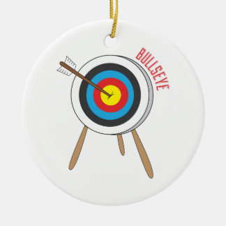 Bullseye Christmas Ornament