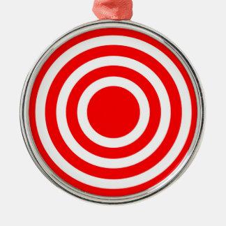 Bullseye Christmas Ornament