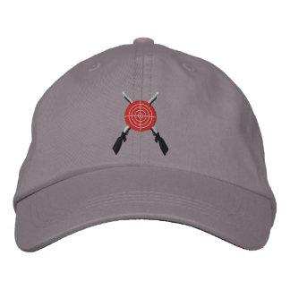 Bullseye Embroidered Baseball Caps