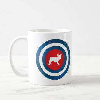 Bullseye Frenchie (b) Coffee Mug