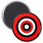 Bullseye Fridge Magnet