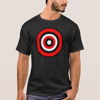 BullsEYE Red Black White T-Shirt