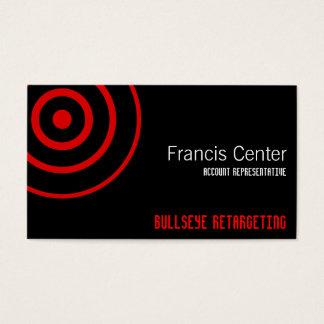 Bullseye Symbol Business Card