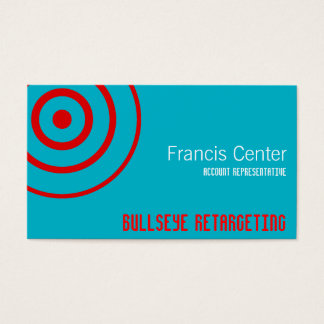 Bullseye Symbol Business Card