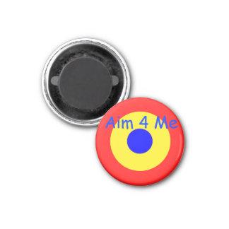 Bullseye Target 3 Cm Round Magnet
