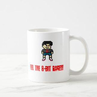 Bully 8-Bit Basic White Mug