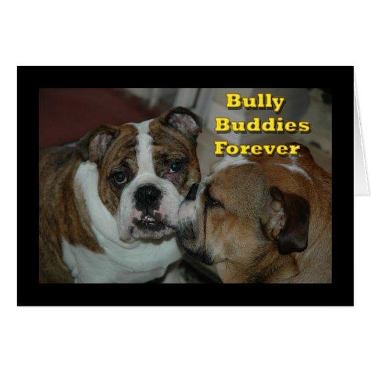 bully buddies card
