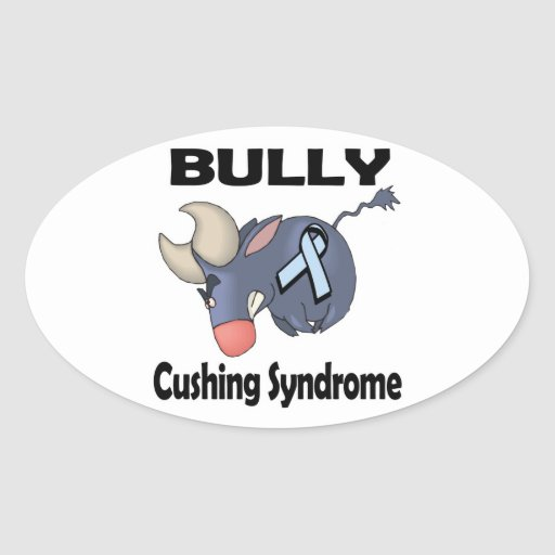 BULLy Cushing Syndrome Oval Stickers