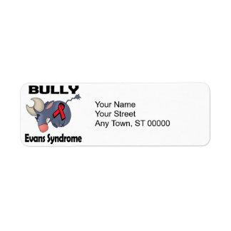 BULLy Evans Syndrome Return Address Label