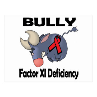 BULLy Factor XI Deficiency Postcards