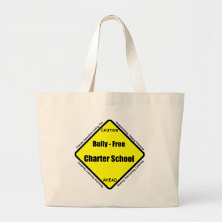 Bully - Free Charter School Jumbo Tote Bag