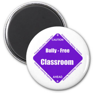 Bully - Free Classroom Refrigerator Magnet