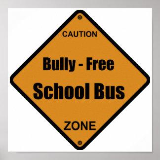 Bully - Free School Bus Print