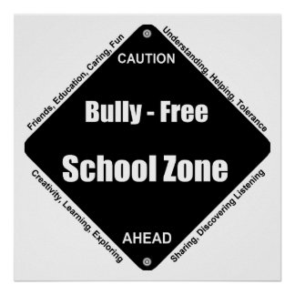 Bully - Free School Note Book Poster