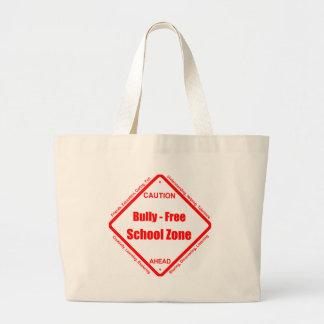 Bully- Free School Zone Jumbo Tote Bag