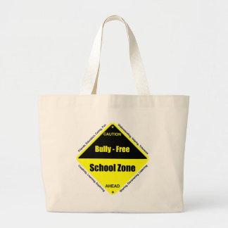 Bully - Free School Zone Jumbo Tote Bag