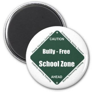 Bully - Free School Zone Fridge Magnet