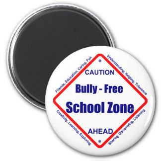 Bully - Free School Zone Refrigerator Magnets