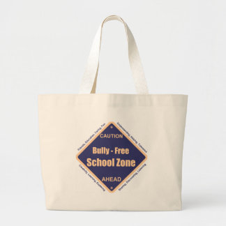 Bully - Free School Zone Canvas Bag