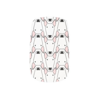 Bully Gridlock Minx nails nail foils stickers